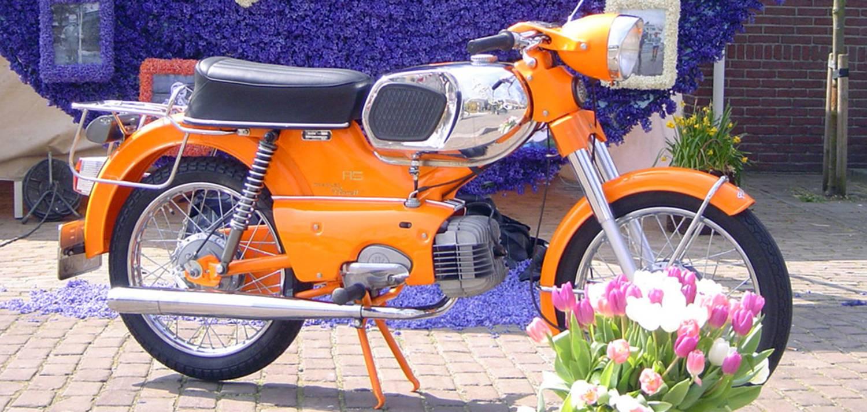 Spuiterij Tauber - Motorfiets spuiten