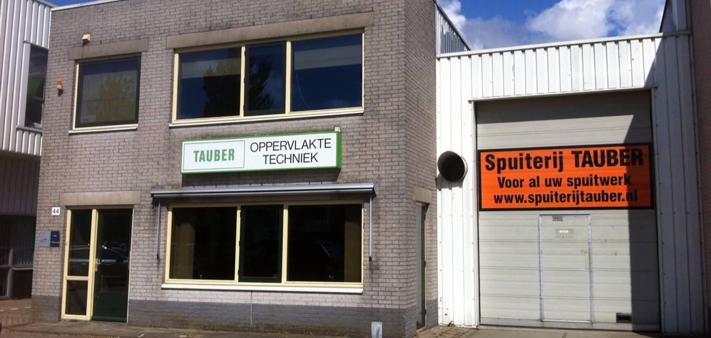 Spuiterij Tauber - Pand, Waarderpolder - Haarlem