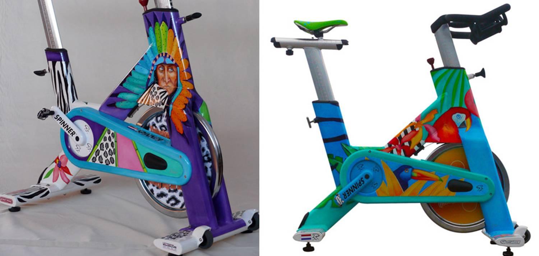 Spuiterij Tauber - Spinbikes en fietsen spuiten