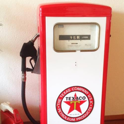 Stralen - Benzinepomp